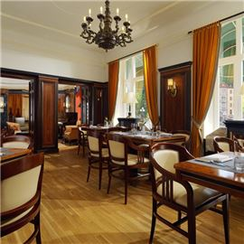 Dining area at Brasserie